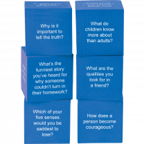 Life Questions Foam Cubes - Pack of 6