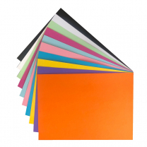 Board A4 10 Bright Colours 220gsm - Pack of 100