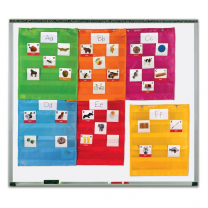 Magnetic Pocket Chart Squares - Pack of 6