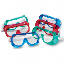 Coloured Safety Goggles - Set of 6
