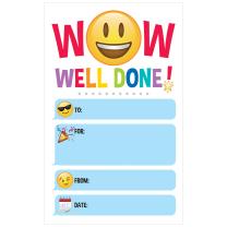 Emoji WOW! Certificates