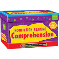 Nonfiction Reading Comprehension Cards - Level 2