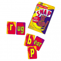 Snap It Up: Word Families & Reading Game