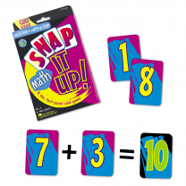 Snap It Up! Card Game - Addition & Subtraction