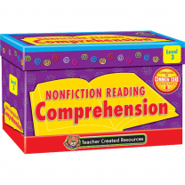 Nonfiction Reading Comprehension Cards - Level 3