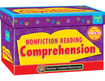 Non Fiction Reading Comprehension Cards Level 5
