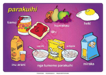 Meals of the Day Maori Chart Set