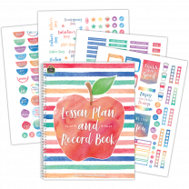 Watercolour Lesson and Record Planner