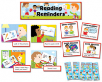 Reading Reminders Mini Bulletin Board