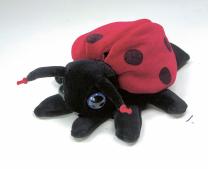Handpuppet - Ladybird