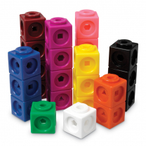 Math Link Cubes - Set of 100
