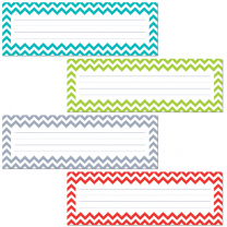 Chevron Solid Variety Classroom Labels