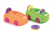 Push/Pull Cars and Magnet Set