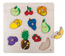 Fruits Peg Puzzle