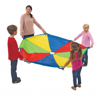 Rainbow Parachute - 8 handles