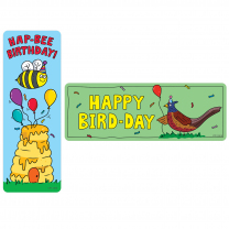 Hap-Bee Birthday Bookmarks