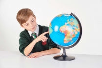 Political Globe - 28cm