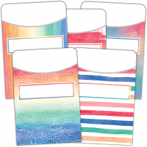 Watercolour Pocket Cards