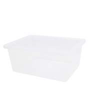 Large Transparent Tub - 15cm