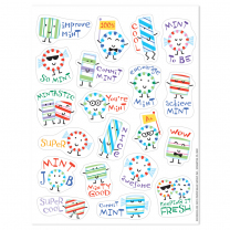 Mint Scented Stickers