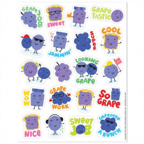 Grape Stinky Stickers