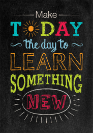 Make Today the Day-chalkboard Poster
