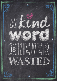 A Kind Word Poster
