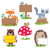 Woodland Friends Jumbo Accent Cards