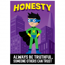 Honesty-Superhero Poster