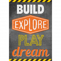 Build, Explore, Play, Dream Poster