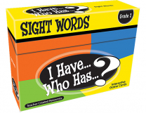 I Have, Who Has Sight Words Game Level 3