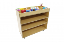 Creative Multipurpose Storage Trolley