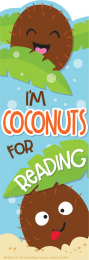 Coconut Scented Bookmarks