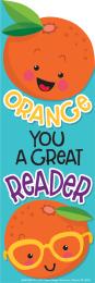 Orange Scented Bookmarks