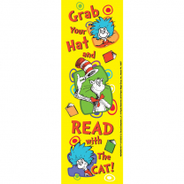 Dr. Seuss Grab Your Hat Bookmarks