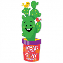 Read More Stay Sharp! Cactus Bookmarks