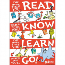 Dr. Seuss The More you Read Poster