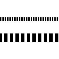 Bold Stripes Magnetic Strips