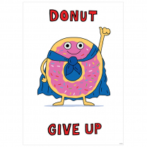 Donut Give Up Poster