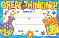 Great Thinking Certificate