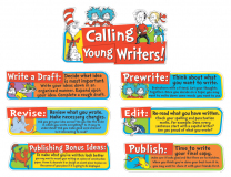 Dr. Seuss Writing Tips Mini Bulletin Board