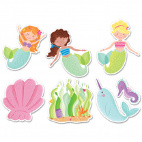 Mermaid Fun Accent Cards