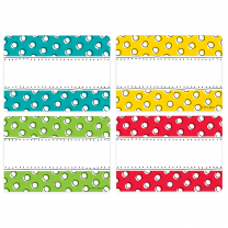 Doodle Dots Name Tags