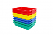 15cm Tubs in 4 Colours - Set of 8