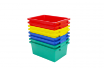 7.5cm Tubs in 4 Colours - Set of 8