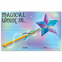Magical Work Certificate