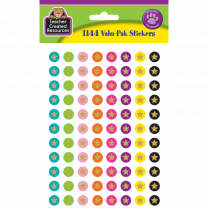 Confetti Stars Spot Stickers Variety Pack