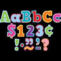 Colourful Vibes Alphabet Lettering - 10cm