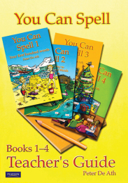 You Can Spell Books 1-4 Teacher's Guide