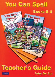 You Can Spell Books 5-8 Teacher's Guide